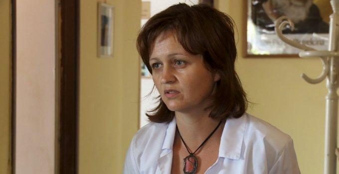 "Beata Fujarska, Hospicjum ""Cordis"" w Mysłowicach fot. TVS"