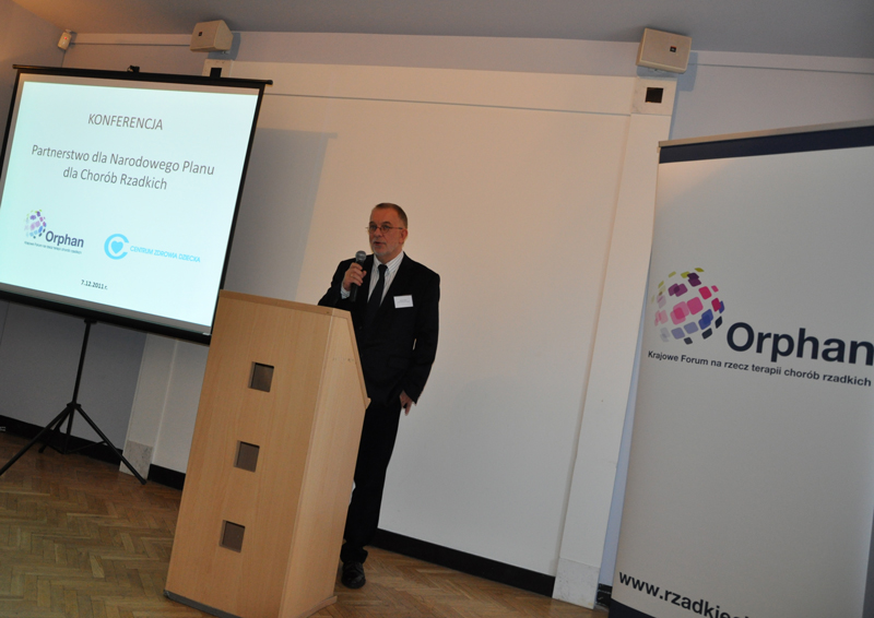 Mirosław Zieliński Orphan Krajowe Forum na rzecz terapii chorób rzadkich