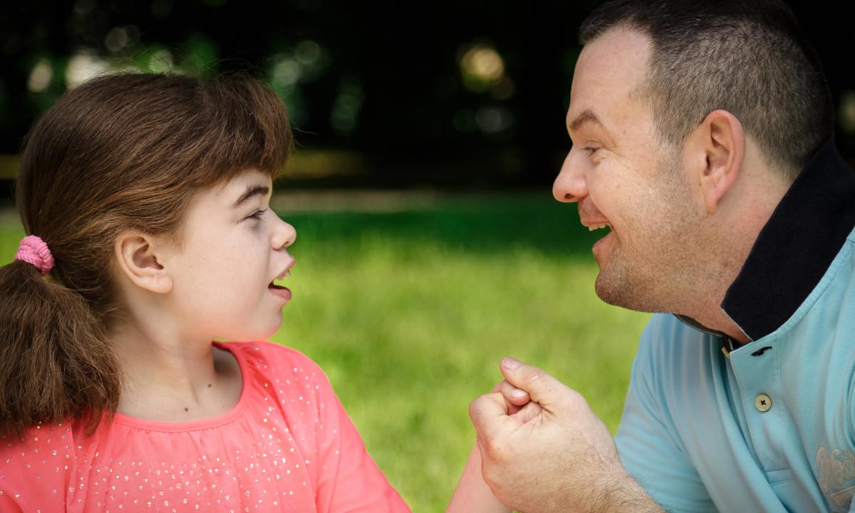 Córką z tatą